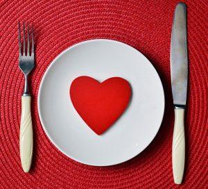 St.Valentine's Day romantic dinner